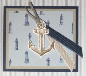 Sailing Home Sampler - Detail 1
