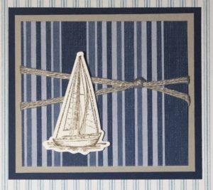 Sailing Home Sampler - Detail 2