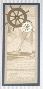Sailing Home Sampler - Detail 4