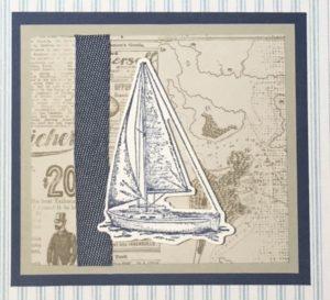Sailing Home Sampler - Detail 7