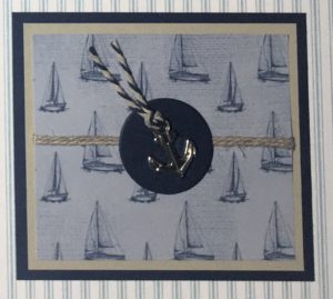 Sailing Home Sampler - Detail 8