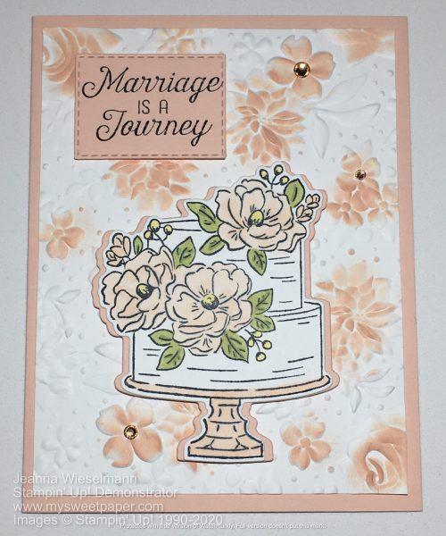 Happy Birthday to You Wedding Card Design